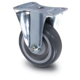 Rigid Replacement Casters for Plastic Basket Trucks