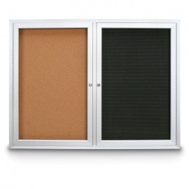 """48 x 36"""" Indoor Enclosed Combo Boards"""