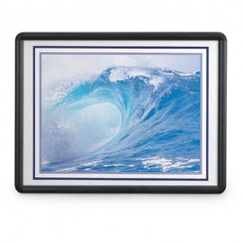 "11 x 14"" Aluminum SNAP Frame with Lens"
