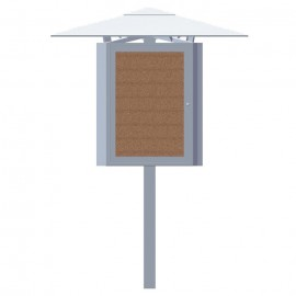 "30W x 42""H Outdoor City Center Kiosk"