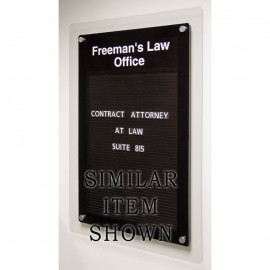 "18 x 12"" Corporate Series Magnetic Directory Board"