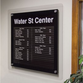 "36 x 36"" Corporate Series Extrusion Directory Board"
