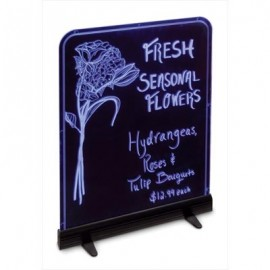 "19 x 25"" Illuminated Edge-Lit Boards- Hanging or Standing"