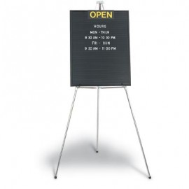 "16 x 20"" Open/Closed Double Sided Open Face Letterboard"