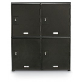 "22 x 26"" x 16"" - ""D"" Size Doors - 4 Dial Combination Lock - Personal Privacy Lockers"