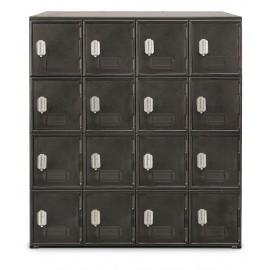 "22 x 55"" x 16"" - ""B"" Size Door- 4 Dial Combination Lock - Personal Privacy Locker"