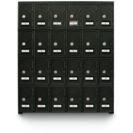 "22 x 26"" x 16"" ""A"" Size Door - Key Lock - Personal Privacy Locker"