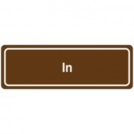 In Directional Sign