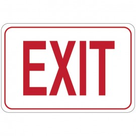 EXIT Facility Sign