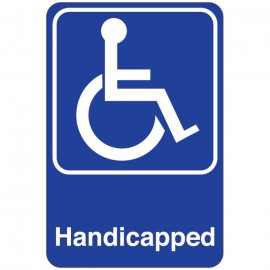 Handicapped Facility Sign