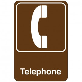 Telephone Facility Sign