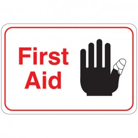 First Aid Facility Sign