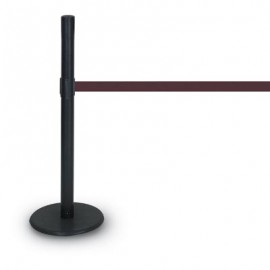 Black ADA Compliant Post/Base- 1100 Series 7'