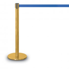 Gold Polished ADA Compliant Post/Base- 1100 Series 7'