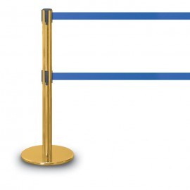 Gold Polished Double Tape Posts- 1300 Series 12'