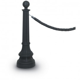Round Finial Formal Colonial Rope Posts- 1400 Series