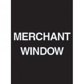 """7 x 11"""" Merchant Window Acrylic Sign"""