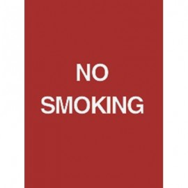 "9 x 12"" No Smoking Acrylic Sign"