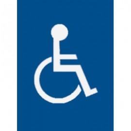 "7 x 11"" Wheelchair Acrylic Sign"