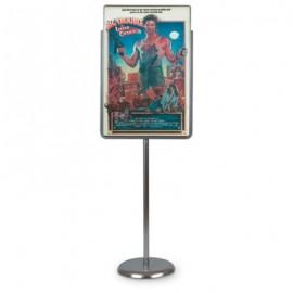 """22 x 28"""" Chrome Sign/Poster Pedestal Holder"""
