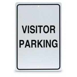 "12 x 18"" Visitor Parking Sign"