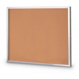 "48 x 36"" Standard Slim Style Radius Framed Corkboard"