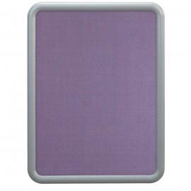 """24 x 36"""" """"Image"""" Corkboards- Amethyst Fabricboard"""