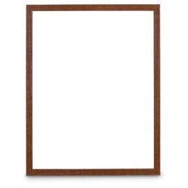 "11 x 14"" Hardwood Poster Displays with Lens"